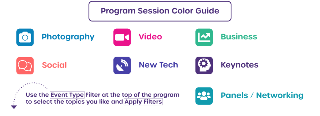 Program session color guide